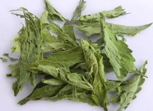 сушеные листья стевии