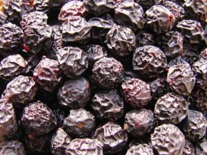 сушеные плоды терна