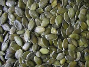 семечки тыквы очищенные