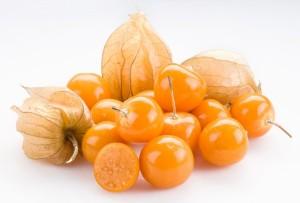 спелые плоды физалиса