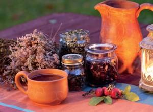 травяной настой и отвар глиняная посуда
