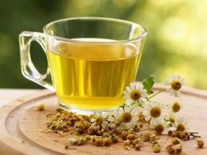 успокаивающий чай с ромашкой