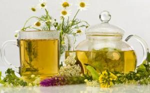 чай от простуды с ромашкой и липой