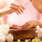 Растительные скрабы и ванночки для рук