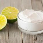 Натуральный крем с лимоном