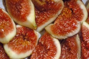 Мякоть инжира плоды инжира в разрезе