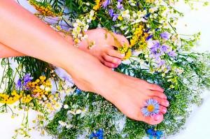 Ванночка от потливости ног