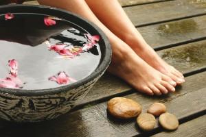 Ванночка для ног с травами при потливости