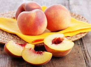Спелые персики маска для шеи